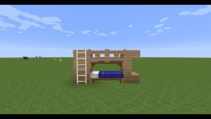 TUTO:Comment faire un lit superposé dans Minecraft 🛌🛌