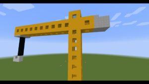 TUTO:comment construire une grue sur Minecraft