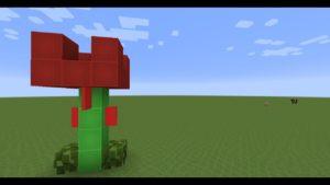 TUTO:comment faire une rose dans Minecraft