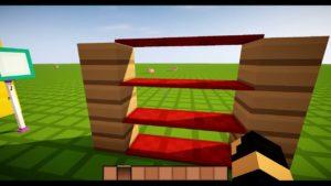TUTO : comment faire une Étagère dans Minecraft