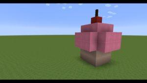 TUTO:comment faire un cup cake dans Minecraft