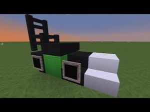 TUTO:comment construire une tondeuse dans Minecraft
