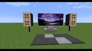 TUTO:comment faire une télévision dans minecraft